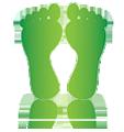 Csökkentse ökológiai lábnyomát!